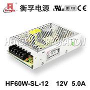千赢国际qy88官方网站_千赢国际qy88官方网站_千赢国际官网首页HF60W-SL-12宽电压输入直流DC12V5A单路输出开关电源