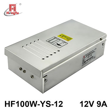 亚博体育app在线下载电源HF100W-YS-12防雨电源AC220V转DC12V9A直流稳压开关电源