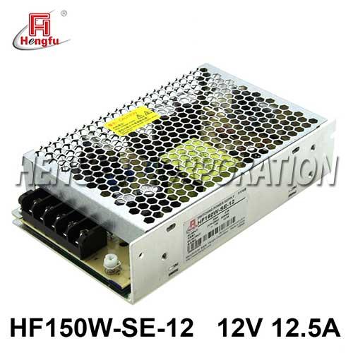新品HF150W-SE-12亚博体育app在线下载电源AC220V转直流DC12V12.5A小体积开关电源