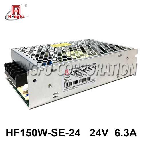 新品HF150W-SE-24亚博体育app在线下载电源AC220V转直流DC24V6.3A小体积开关电源