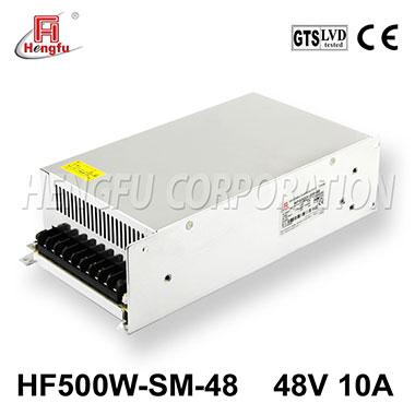 亚博体育app在线下载电源HF500W-SM-48官方直销DC48V10A单路小体积大功率开关电源