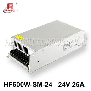 亚博体育app在线下载电源HF600W-SM-24官方直销DC24V25A单路小体积大功率开关电源