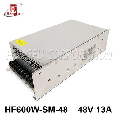 亚博体育app在线下载电源HF600W-SM-48官方直销DC48V13A单路小体积大功率开关电源