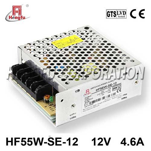 亚博体育app在线下载电源HF55W-SE-12直流DC12V4.6A单路输出经济型开关电源可定制