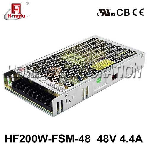 贝博足彩HF200W-FSM-36新品110V/220VAC转DC36V5.9A单路超薄型开关电源