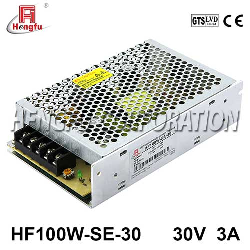 【定制】贝博足彩电源HF100W-SE-30直流稳压DC30V3A单路输出经济型开关电源