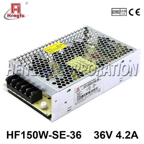 新品HF150W-SE-36贝博足彩电源AC220V转直流DC36V4.2A小体积开关电源