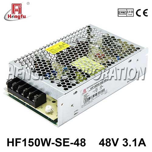 新品HF150W-SE-48贝博足彩电源AC220V转直流DC48V3.1A小体积开关电源