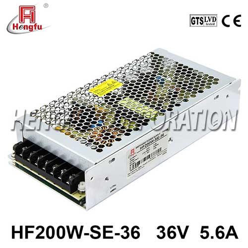 新品HF200W-SE-36贝博足彩电源220V转直流DC36V5.6A单路输出开关电源