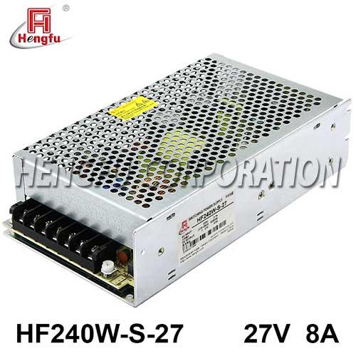 贝博足彩电源HF240W-S-27直流DC27V8A单路输出开关电源替代HF200W-S-27